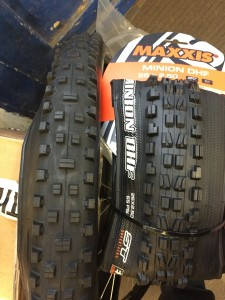 Maxxis Shorty and DHF
