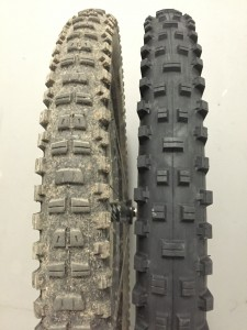 Maxxis Shorty and DHR II